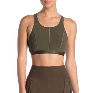 NWT Free People movement crop bra top small